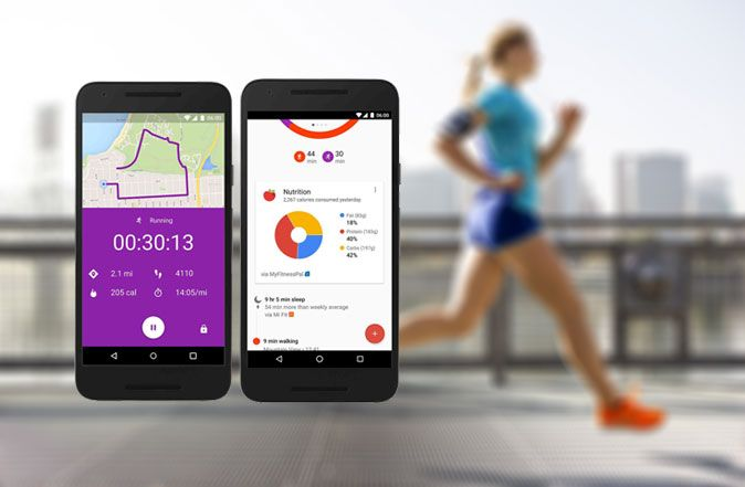GoogleFit nadogradnja (upgrade)