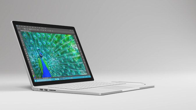 Surface Book 2 glasine