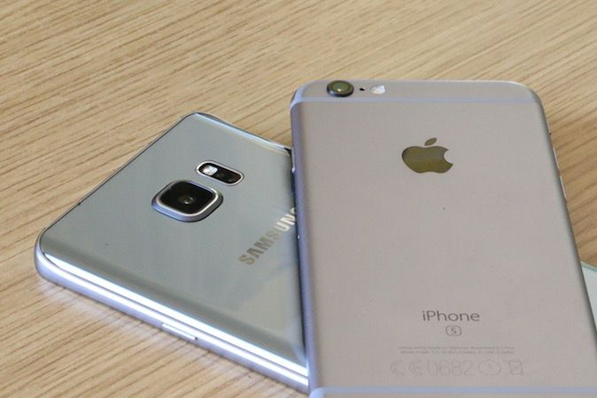 iPhone 6s Samsung Galaxy note 5 usporedba kamera