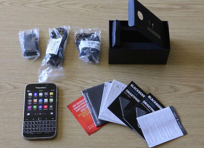 BlackBerry Classic raspakiravanje