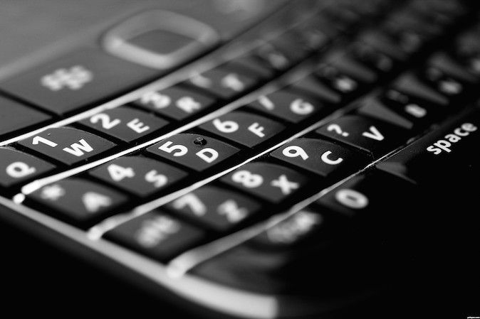 Blackberry-Keypad