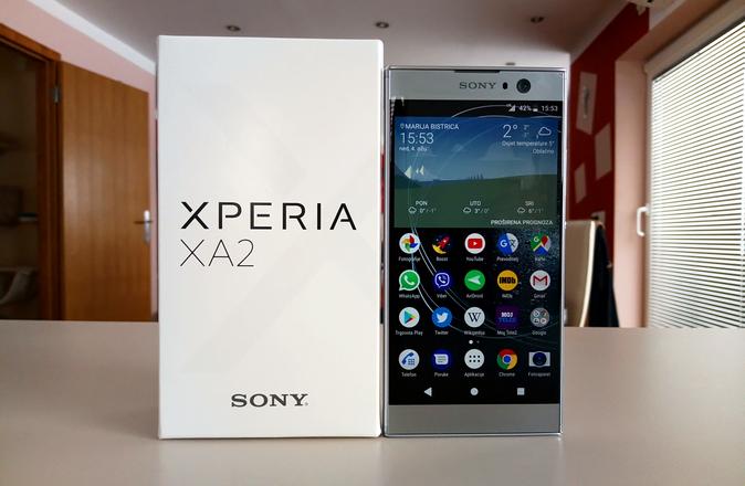 Sony Xperia XA2 – Recenzija