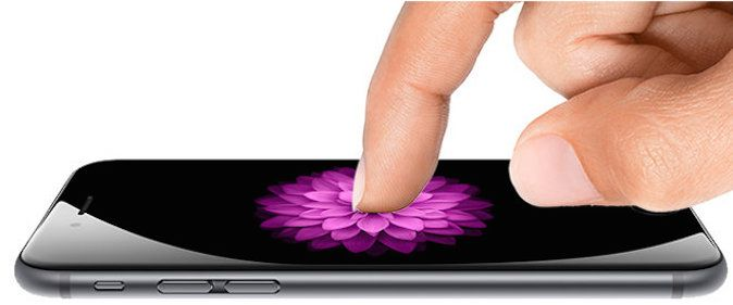 Force touch iOS