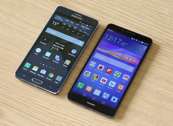 Huawei Ascend Mate 7 vs Samsung Galaxy Note 4