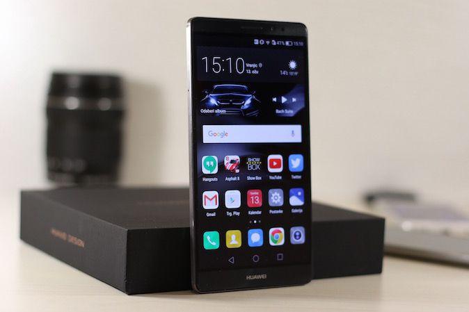 Huawei Mate 8 - Recenzija