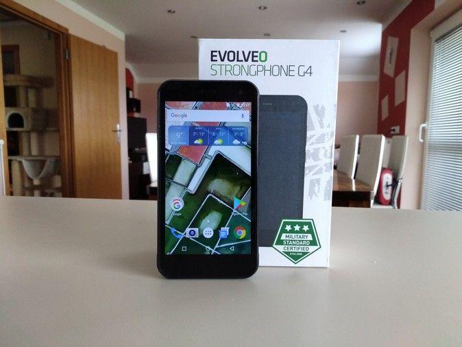 Evolveo StrongPhone G4 – Recenzija