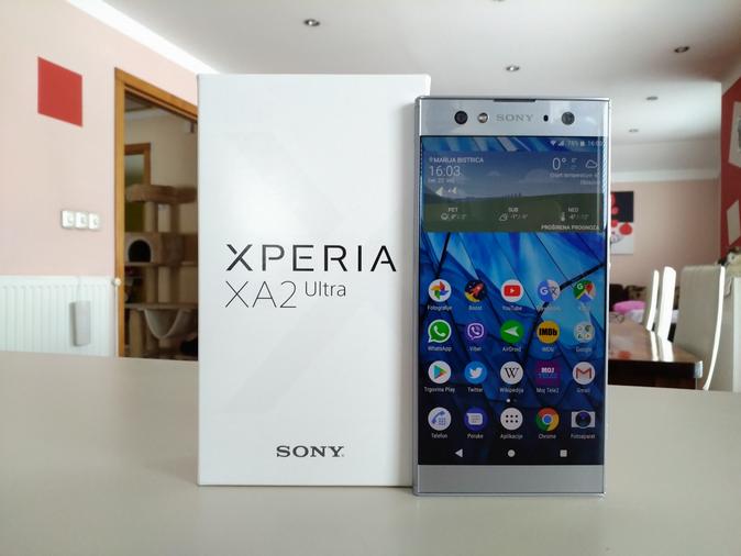 Sony Xperia XA2 Ultra – Recenzija