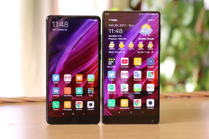 Xiaomi Mi Mix vs. Xiaomi Mi Mix 2 [Usporedba]