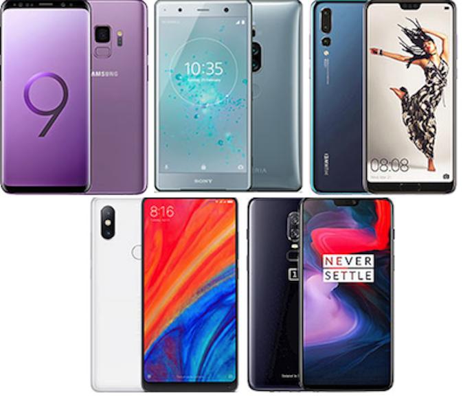 Najbolji Androidi – proljeće 2018. godine