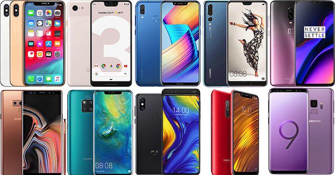 10 najboljih smartfona u 2018. godini