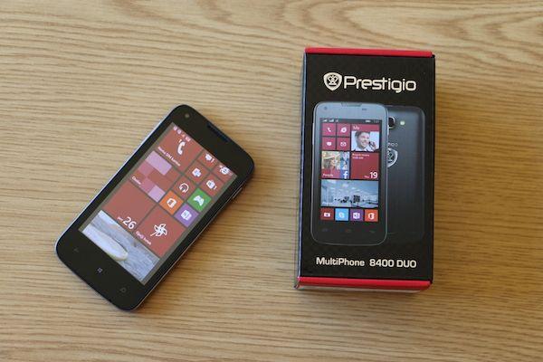 Prestigio MultiPhone 8400 review