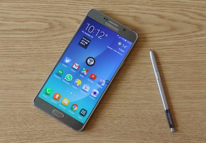 Samsung Galaxy Note 5 Recenzija