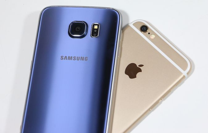 Samsung Galaxy S6 vs. iPhone 6
