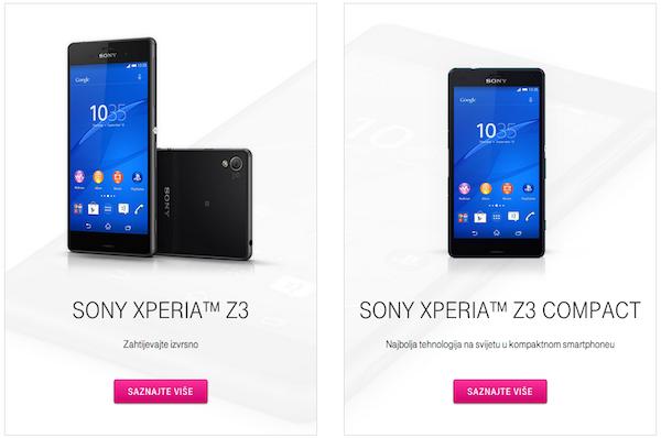 Sony Xperia Z3 HT