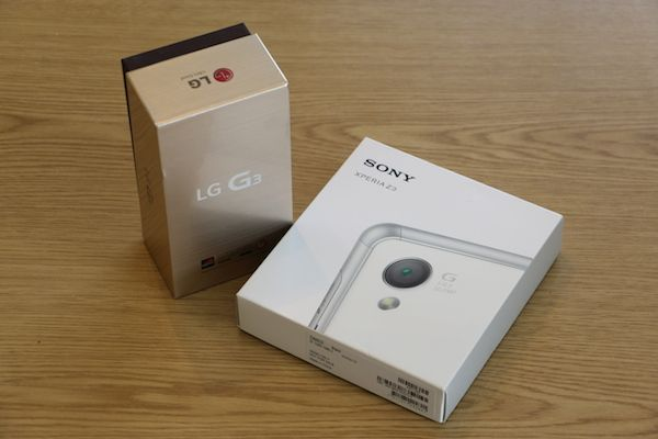Sony Xperia Z3 vs LG G3