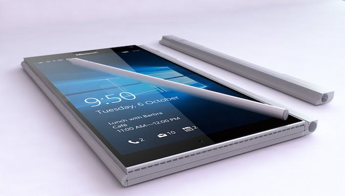 Surface Phone koncept