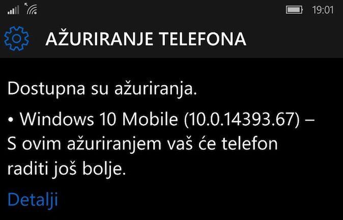 Windows 10 Mobile Annyversary
