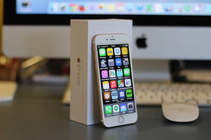 iPhone 6 maraton test