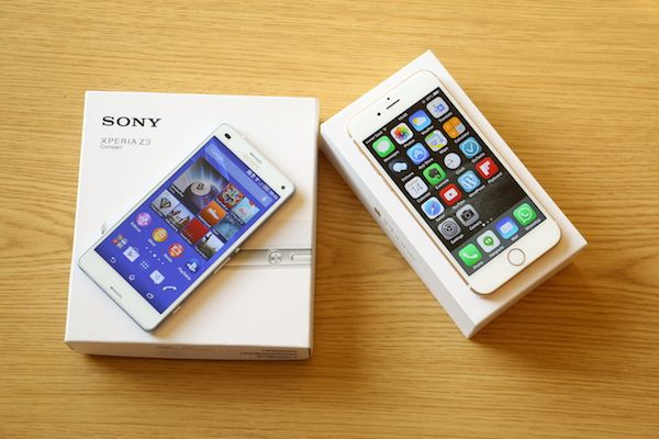 iPhone 6 vs Sony Xperia Z3 Compact