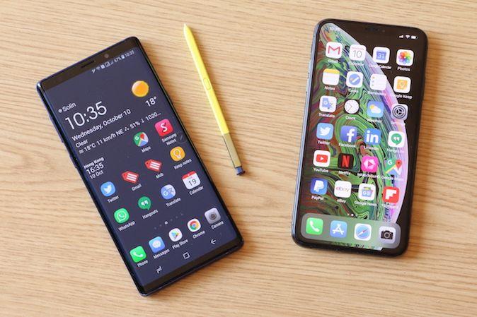 iPhone XS Max ili Samsung Galaxy Note 9 – Kojeg odabrati? [Usporedba]