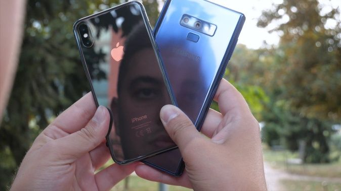 Samsung Galaxy Note 9 vs. iPhone X [Usporedba]